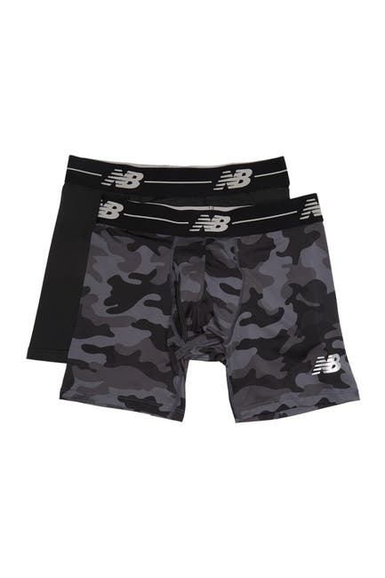"Image of New Balance Performance Everyday 6"" Boxer Briefs - Pack of 2"
