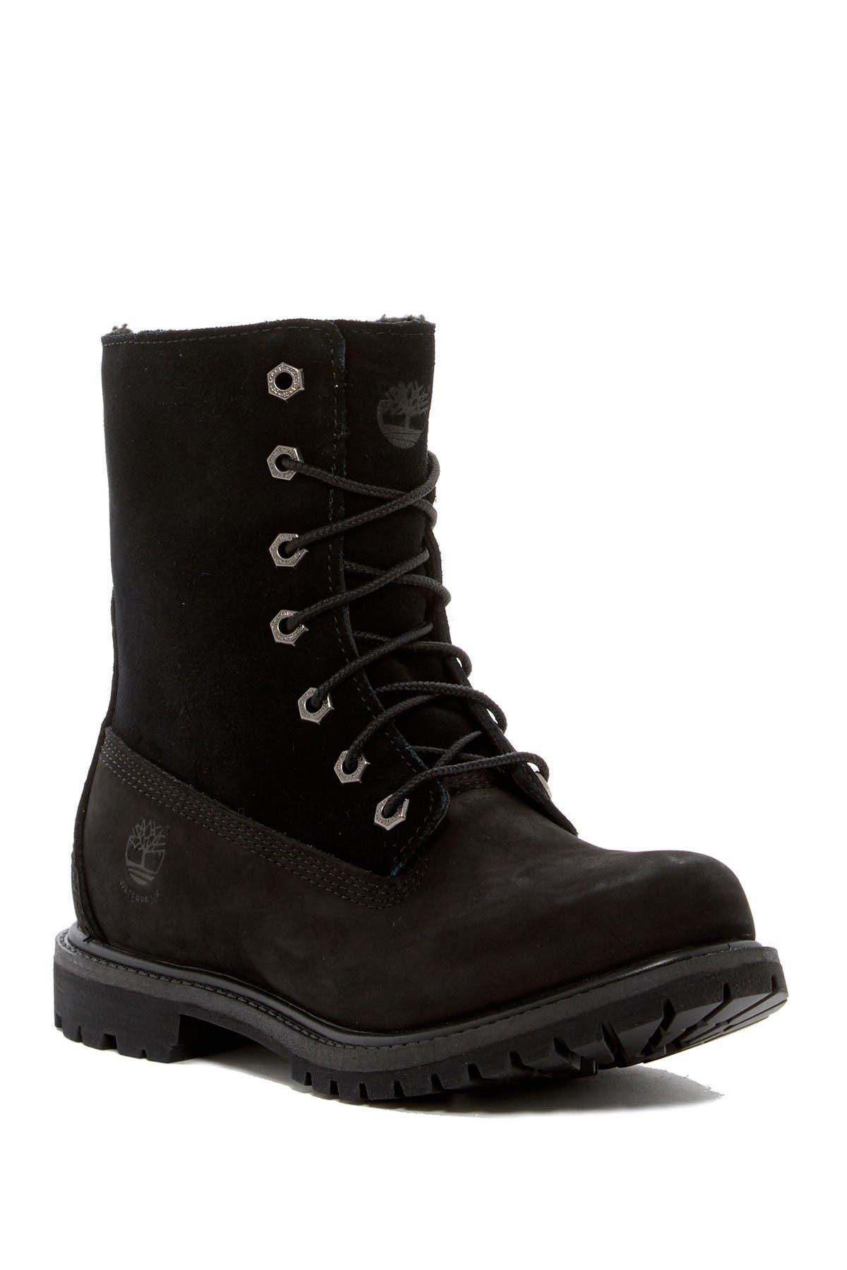 Image of Timberland Authentics Teddy Fleece Waterproof Suede Boot