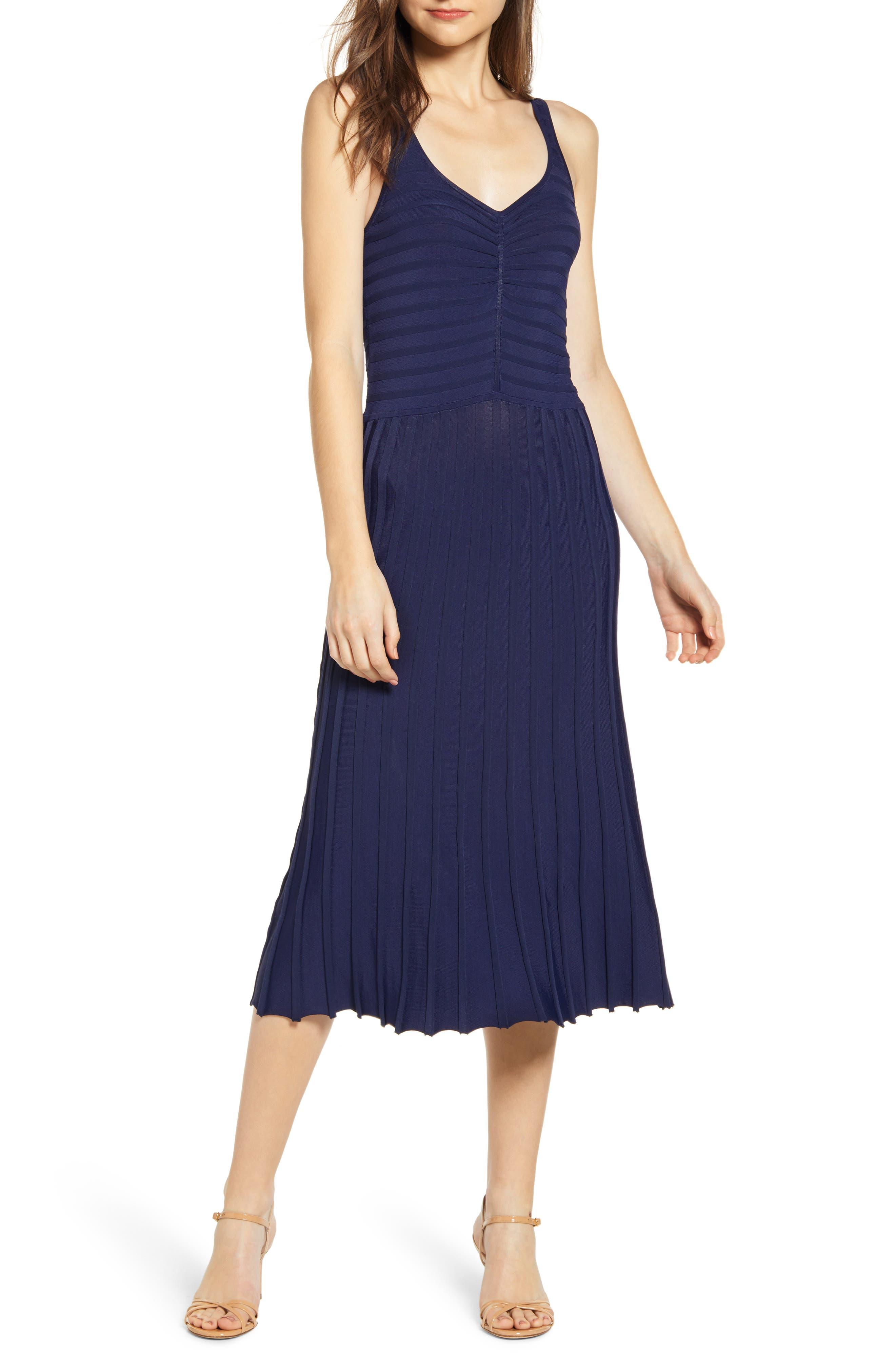Chelsea28 Tank Sweater Dress, Blue