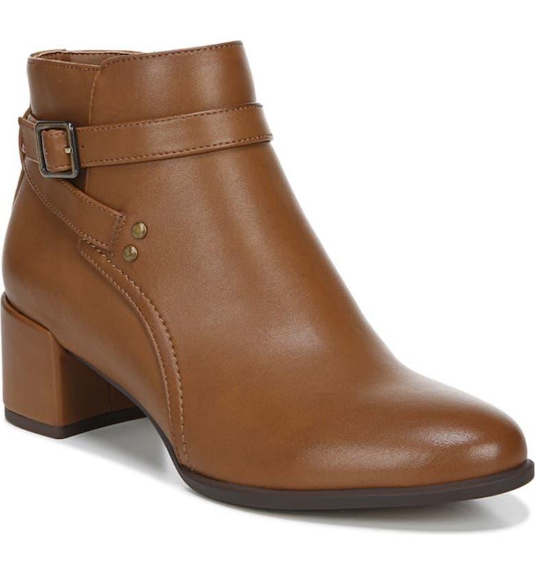 SOUL NATURALIZER Rachelle Block Heel Boot, Main, color, WALNUT