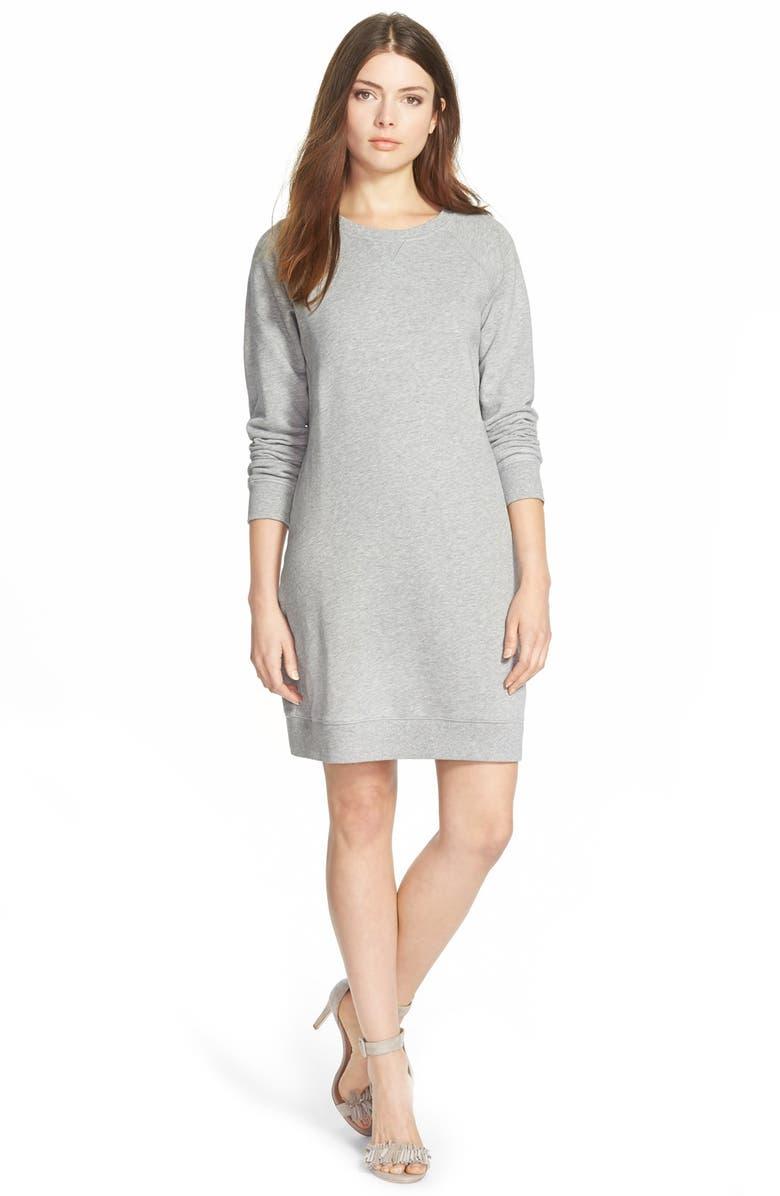 AG 'Sunday' Sweatshirt Dress, Main, color, 020