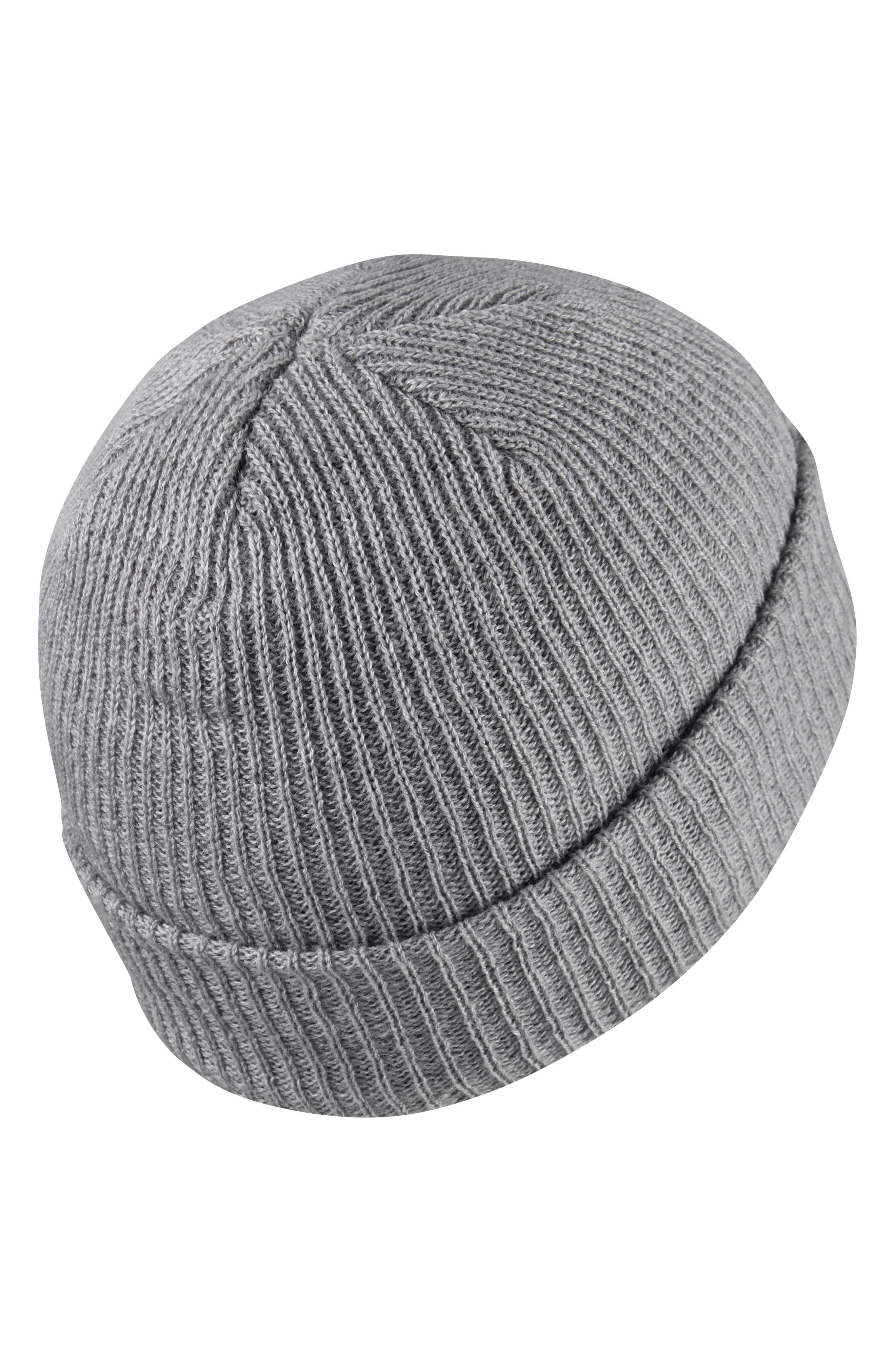 ,                             Fisherman Cap,                             Alternate thumbnail 2, color,                             DARK GREY HEATHER/WHITE