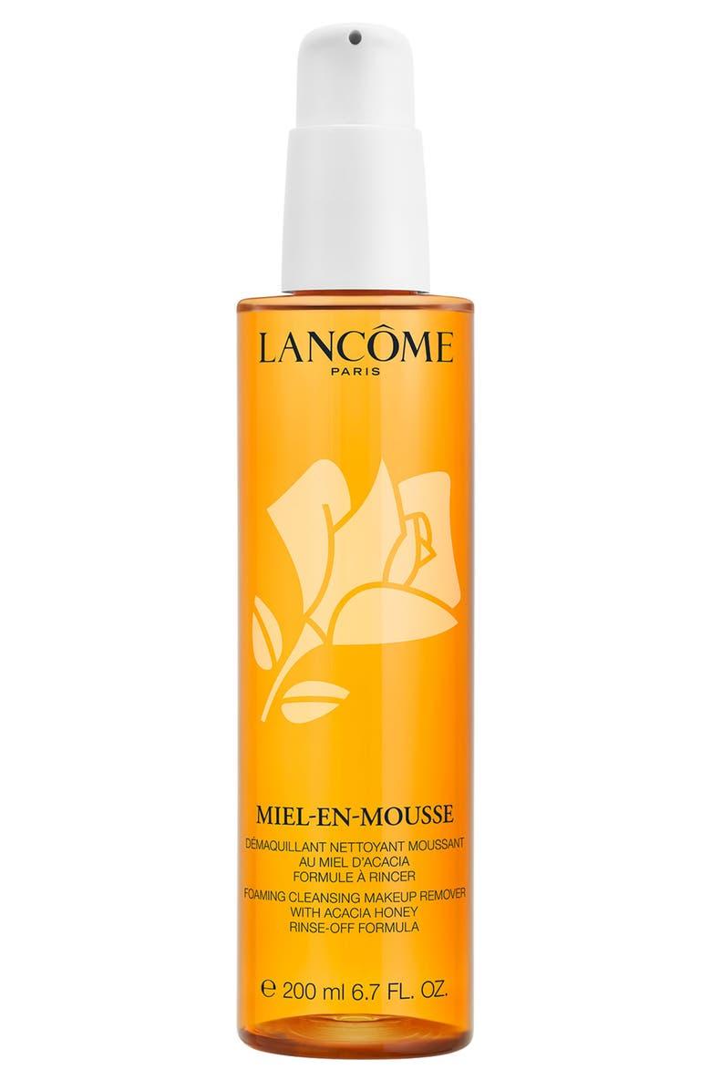 LANCÔME Miel-en-Mousse Foaming Face Cleanser & Makeup Remover, Main, color, 000