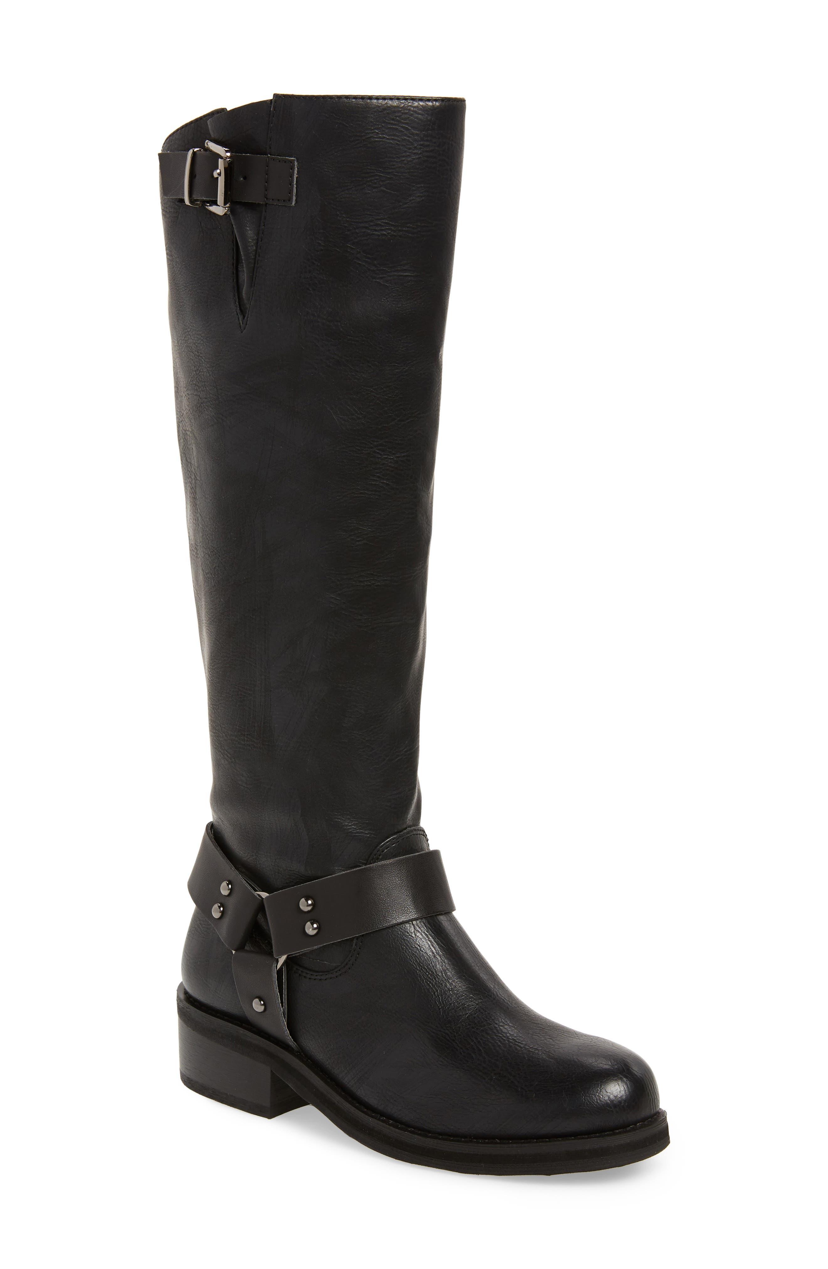 Very Volatile Pemberton Knee High Boot- Black