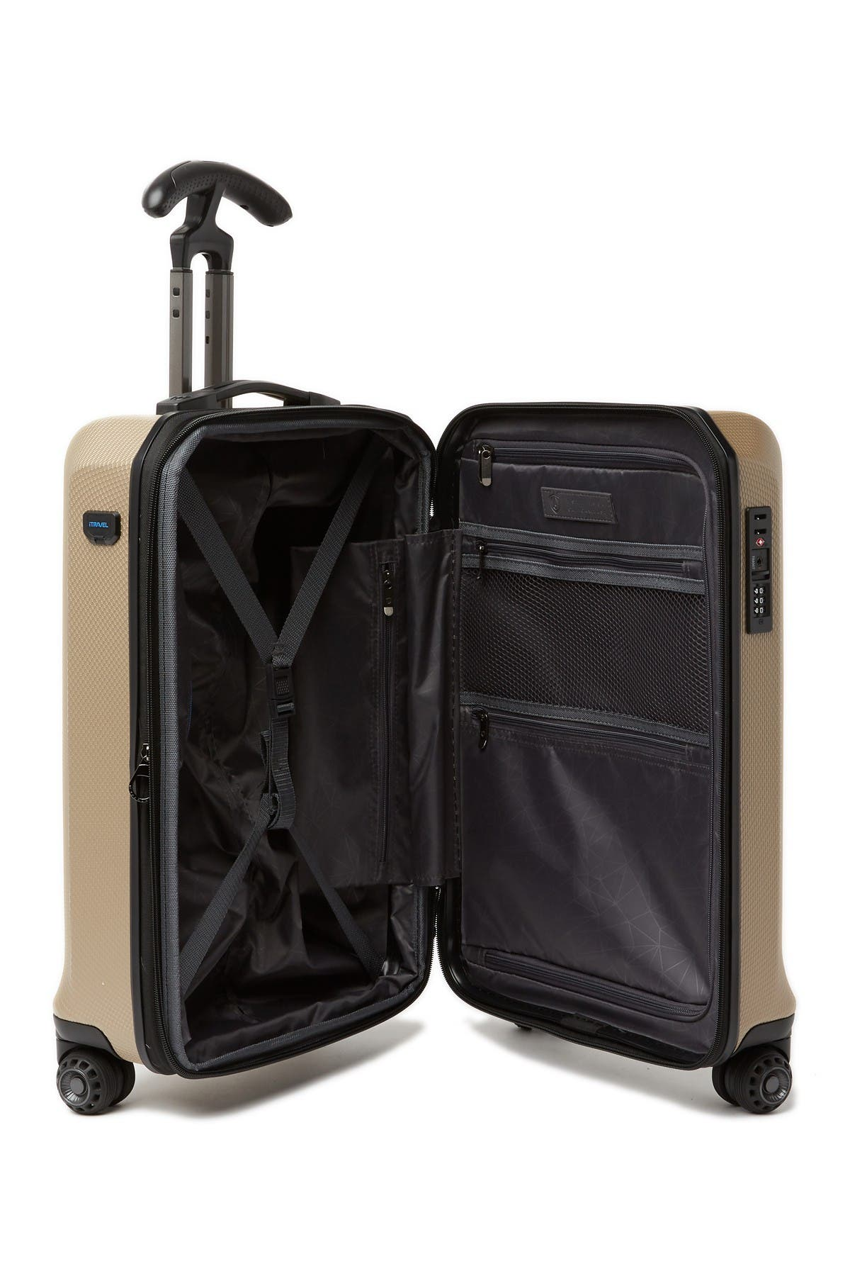 "Traveler's Choice Luggage Zendy 21"" Hardside Spinner"