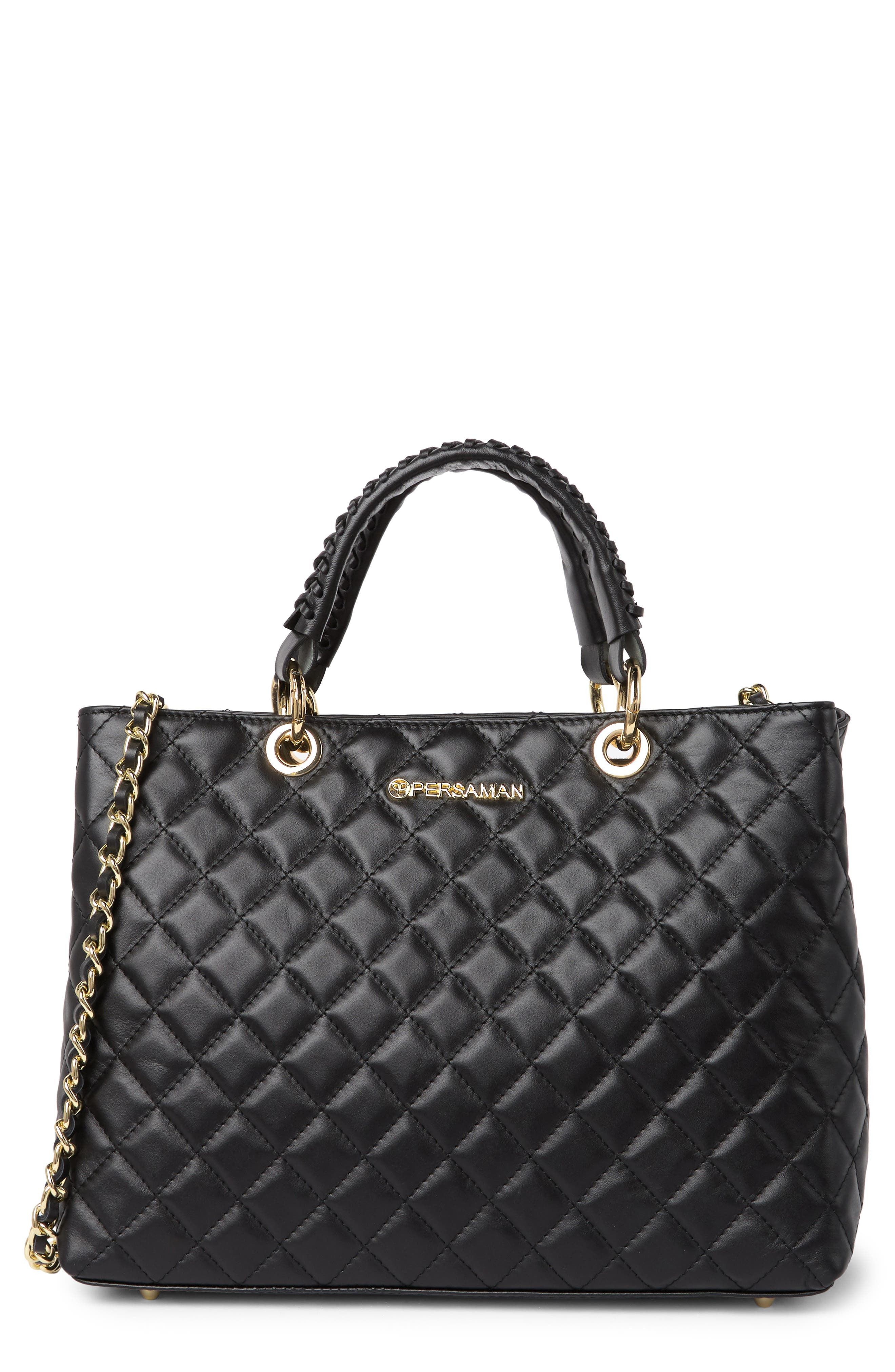 Image of Persaman New York Dulce 21 Quilted Tote Bag