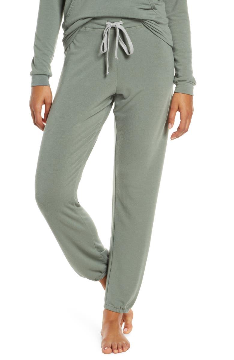 PROJECT SOCIAL T Champlain Lounge Jogger Pants, Main, color, DRIED SAGE