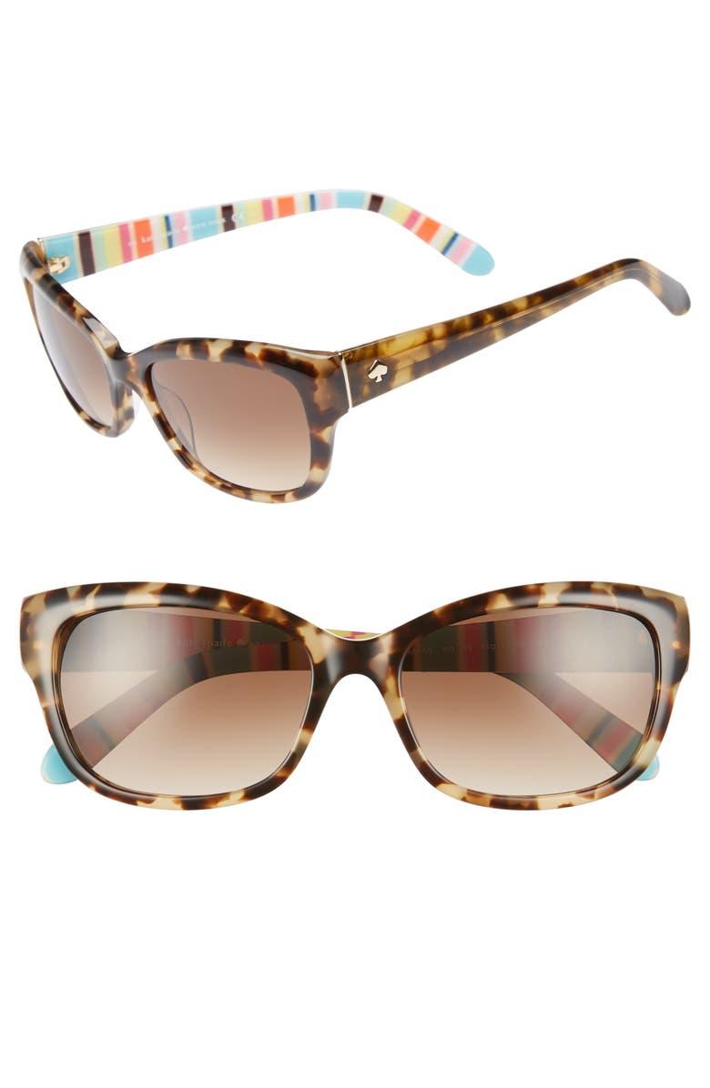 9e24c8082ad2 kate spade 'johanna' 53mm retro sunglasses, Main, color, ...