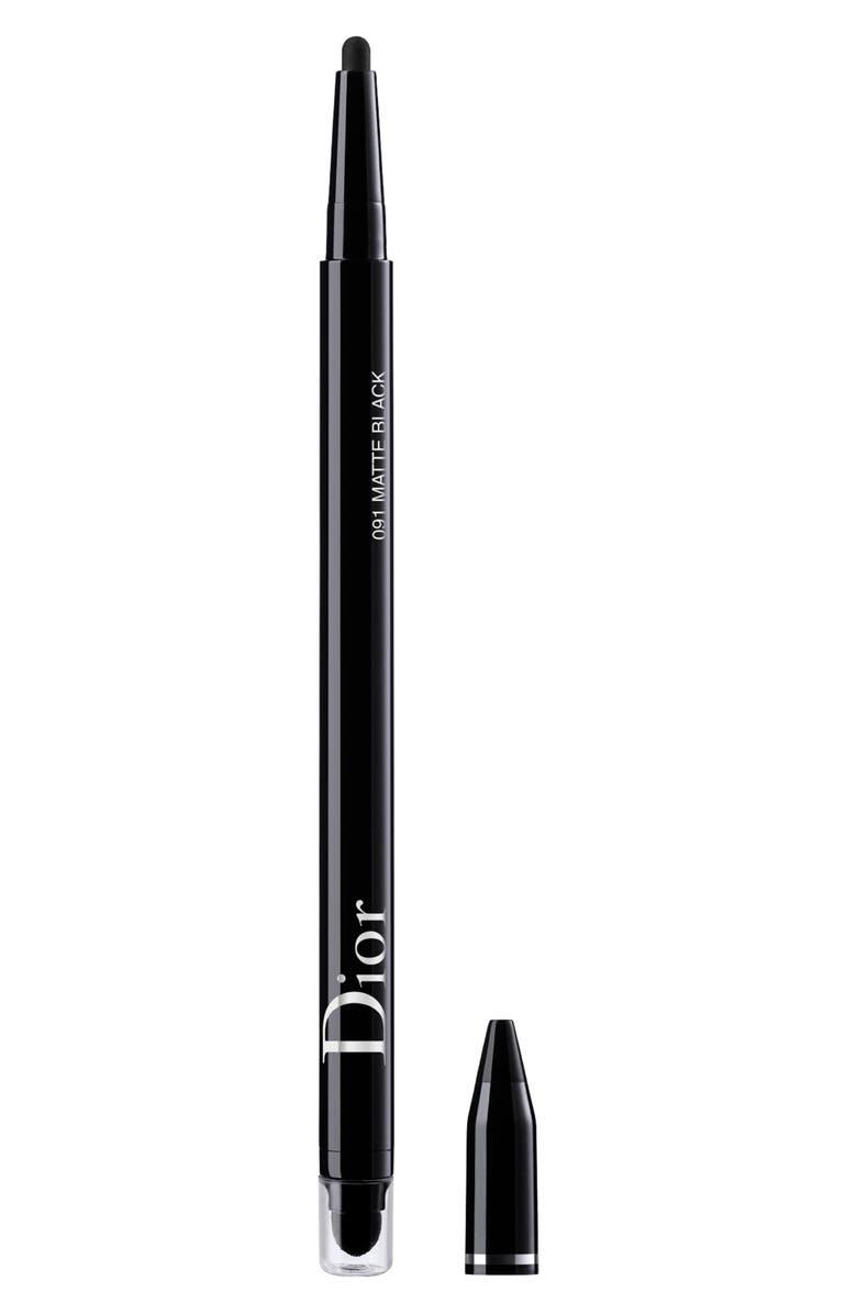 DIOR Diorshow Hour Stylo Eyeliner, Main, color, MATTE BLACK