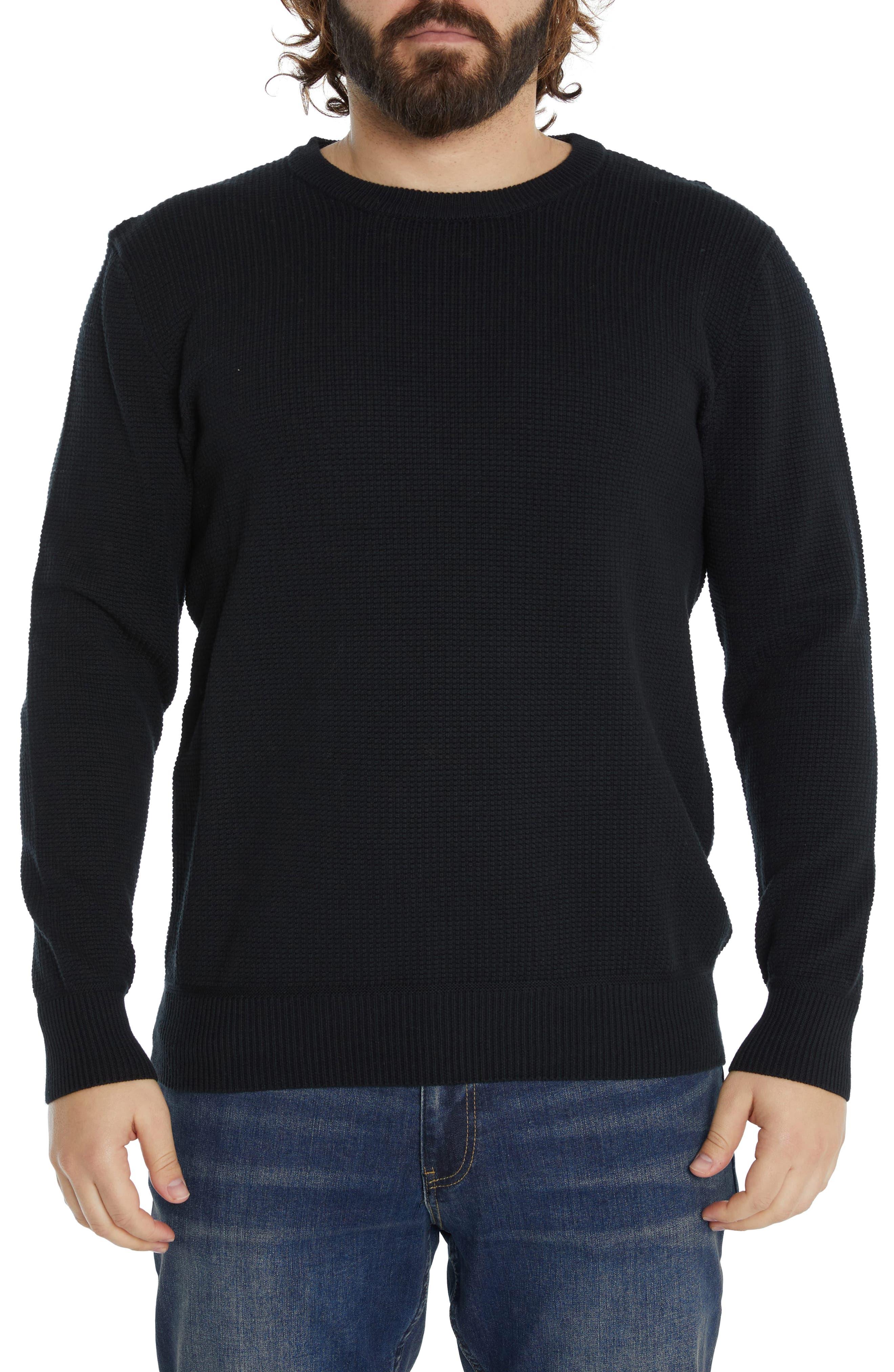 Palmer Ribbed Cotton Crewneck Sweater