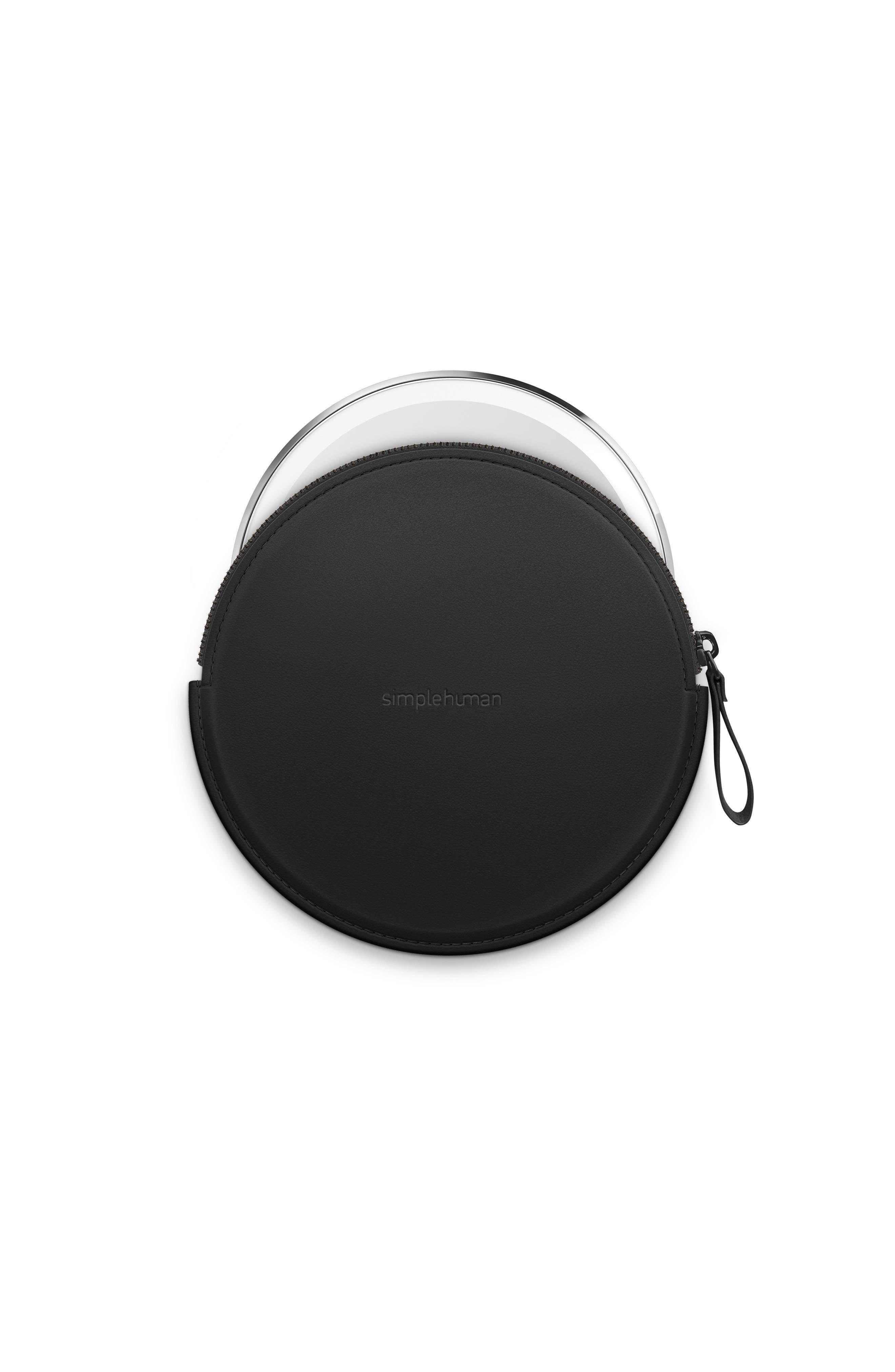 ,                             Sensor Mirror Compact Case,                             Alternate thumbnail 2, color,                             BLACK