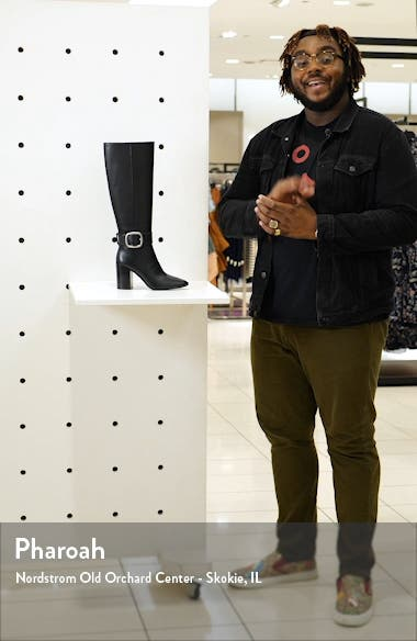 Evelyn Knee High Buckle Boot, sales video thumbnail