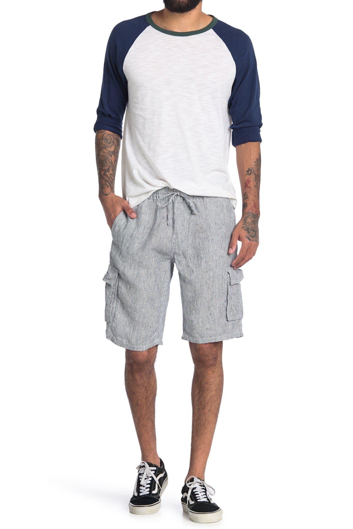Image of Onia Tom Linen Cargo Shorts