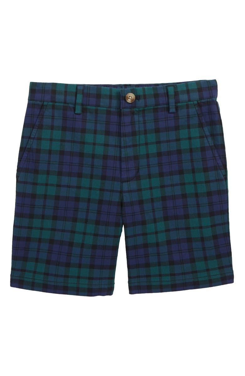 VINEYARD VINES Blackwatch Breaker Shorts, Main, color, DEEP BAY