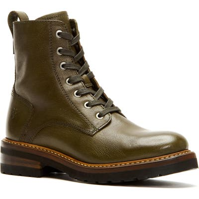 Frye Ella Combat Boot, Green