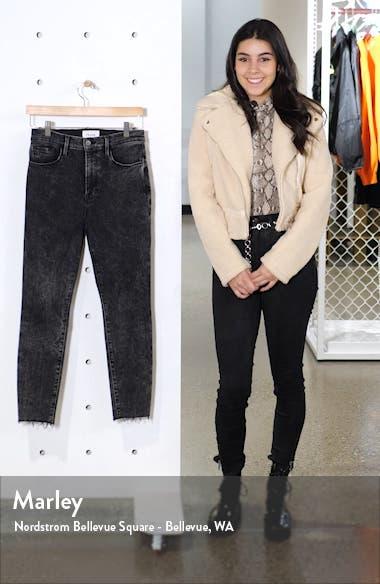 Ali High Waist Crop Cigarette Skinny Jeans, sales video thumbnail