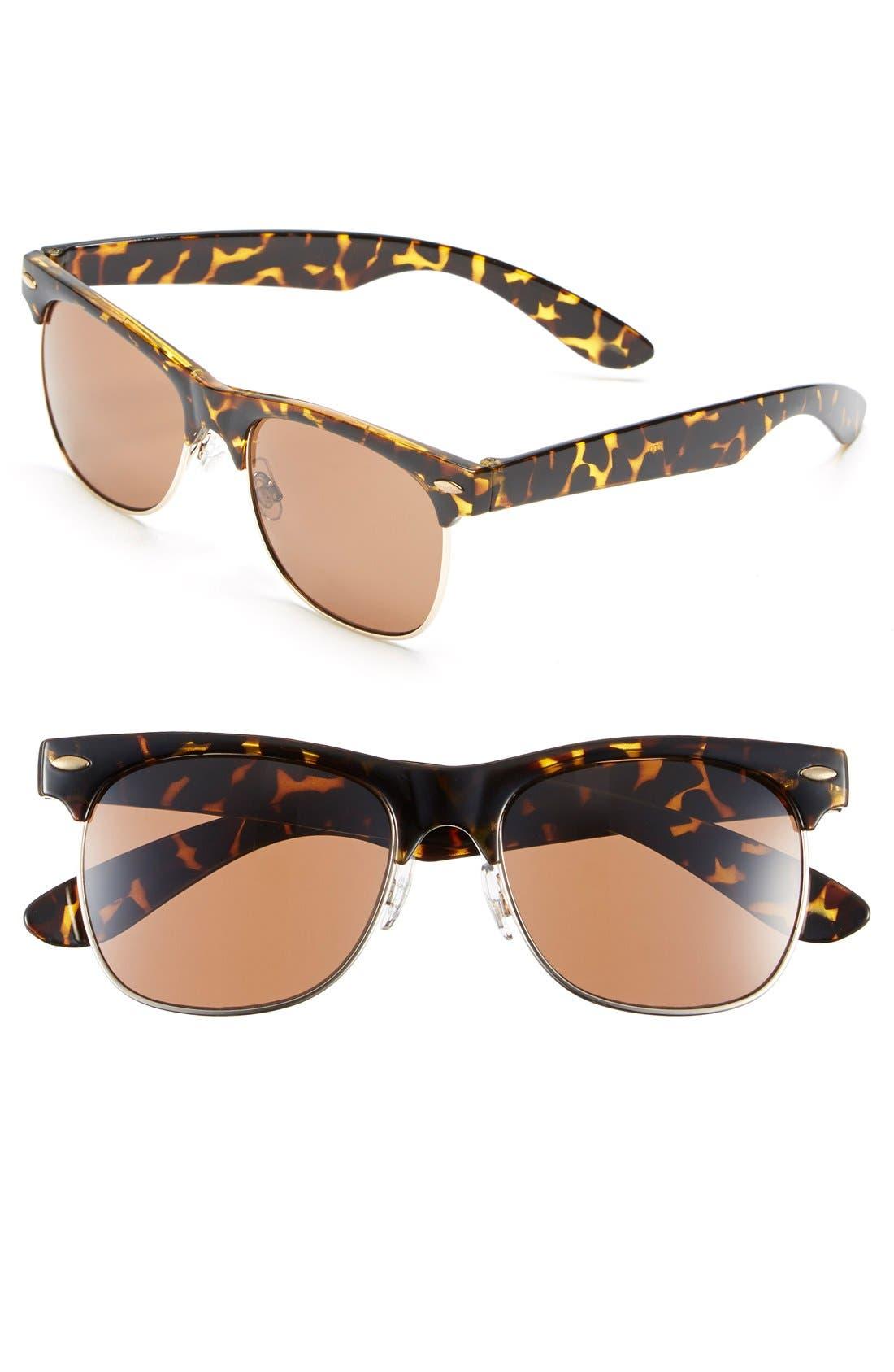'Gloria' 55mm Sunglasses, Main, color, 240