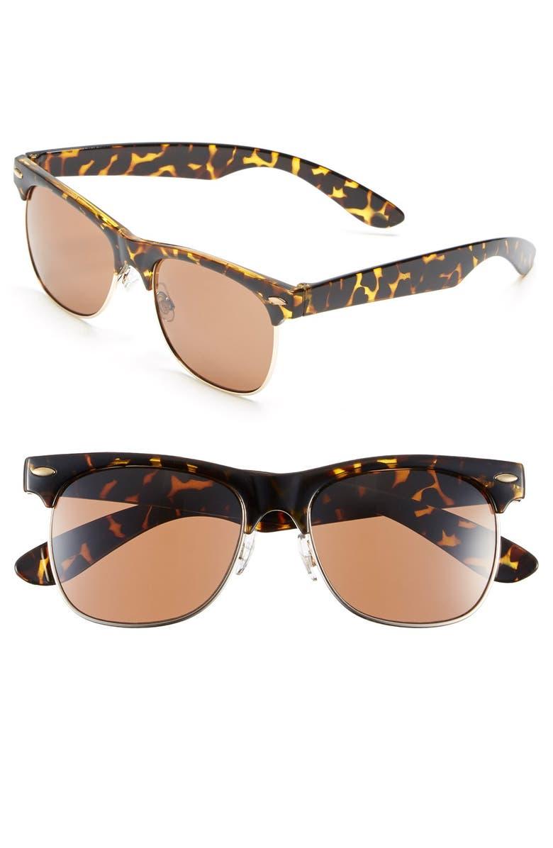 BP. 'Gloria' 55mm Sunglasses, Main, color, 240