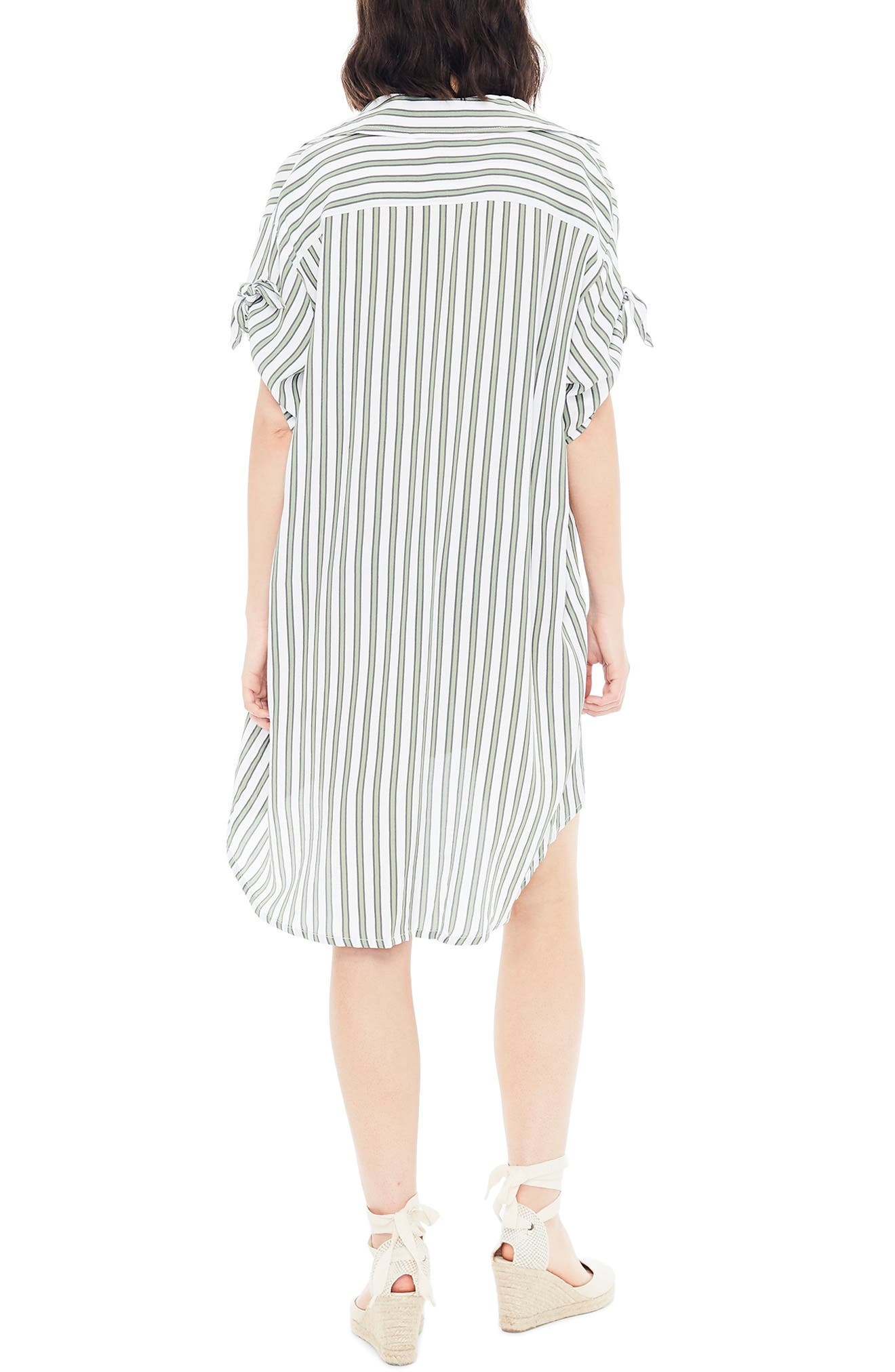 ,                             Porte Stripe Shirtdress,                             Alternate thumbnail 2, color,                             ALMERIA STRIPE PRINT