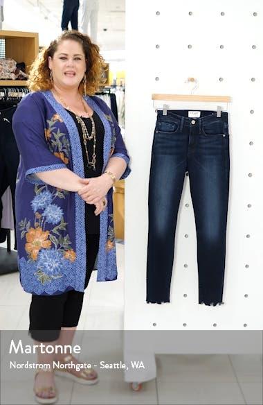 Le Skinny Chew Hem Ankle Jeans, sales video thumbnail