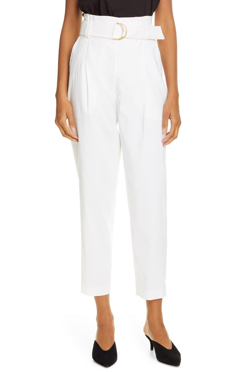Diego High Belted Waist Crop Pants by A.L.C.
