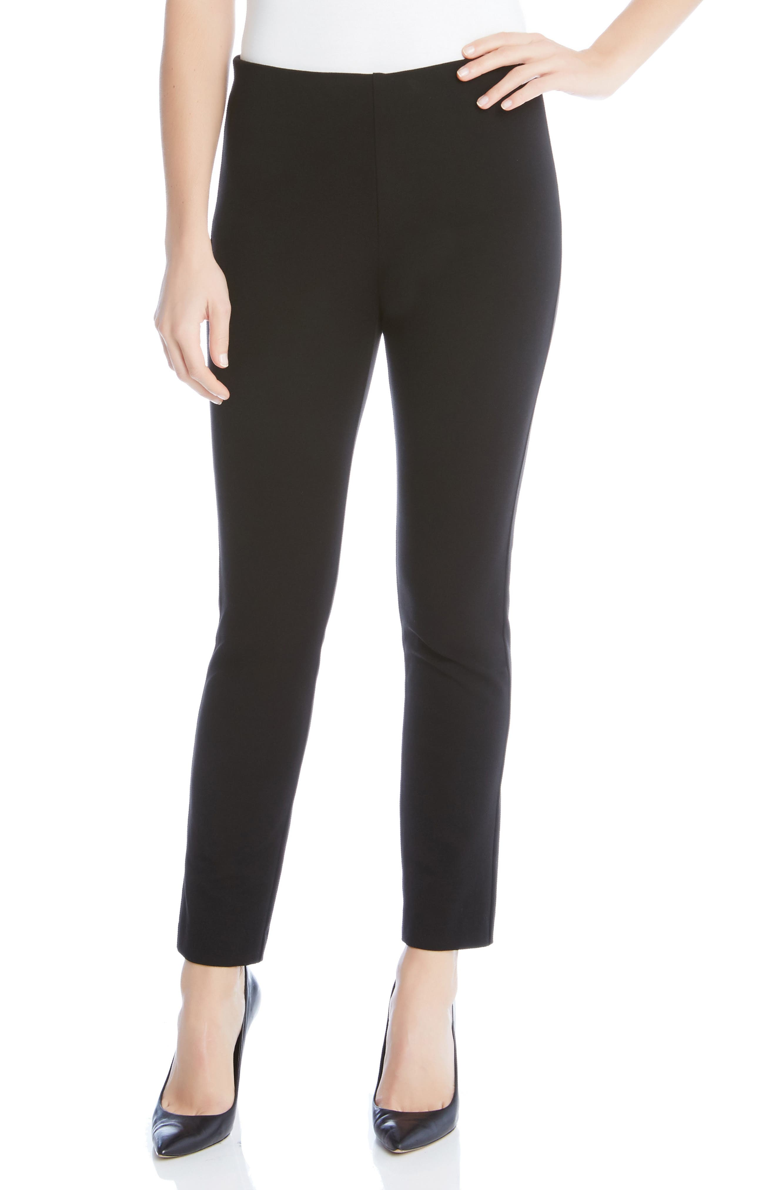 Women's Karen Kane Piper Skinny Ankle Pants,  X-Small - Black