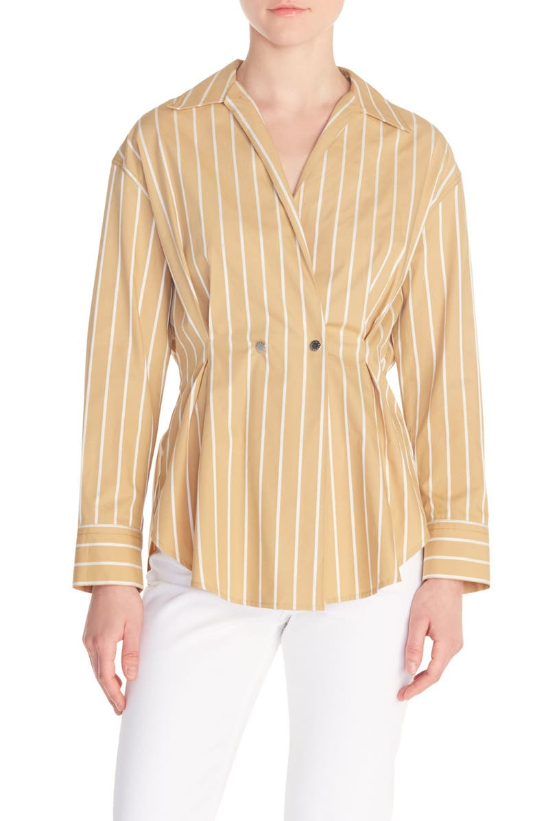 Mathilde Stripe Shirt by Sandro