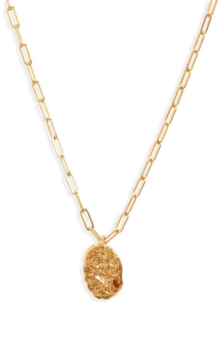 ALIGHIERI The Infinite Offering Necklace, Main, color, GOLD