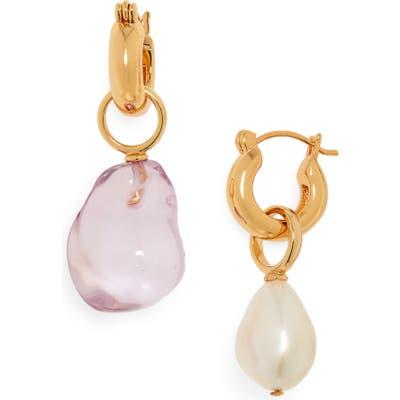 Lizzie Fortunato Island Mismatched Drop Earrings