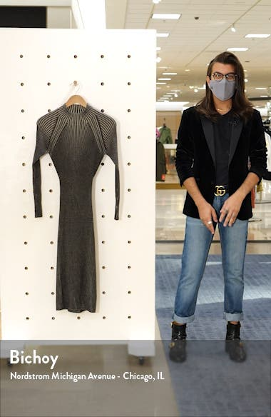 Halyn Long Sleeve Sweater Dress, sales video thumbnail