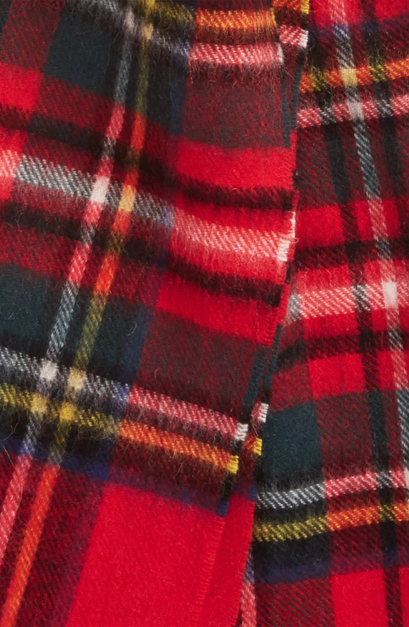,                             New Check Lambswool & Cashmere Scarf,                             Alternate thumbnail 19, color,                             630
