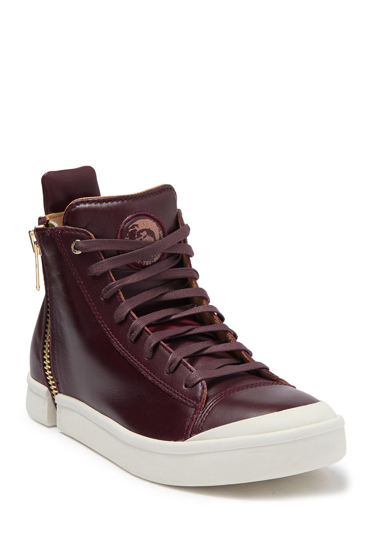 Nentish High Top Leather Sneaker