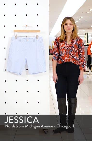 Stretch Seersucker Shorts, sales video thumbnail