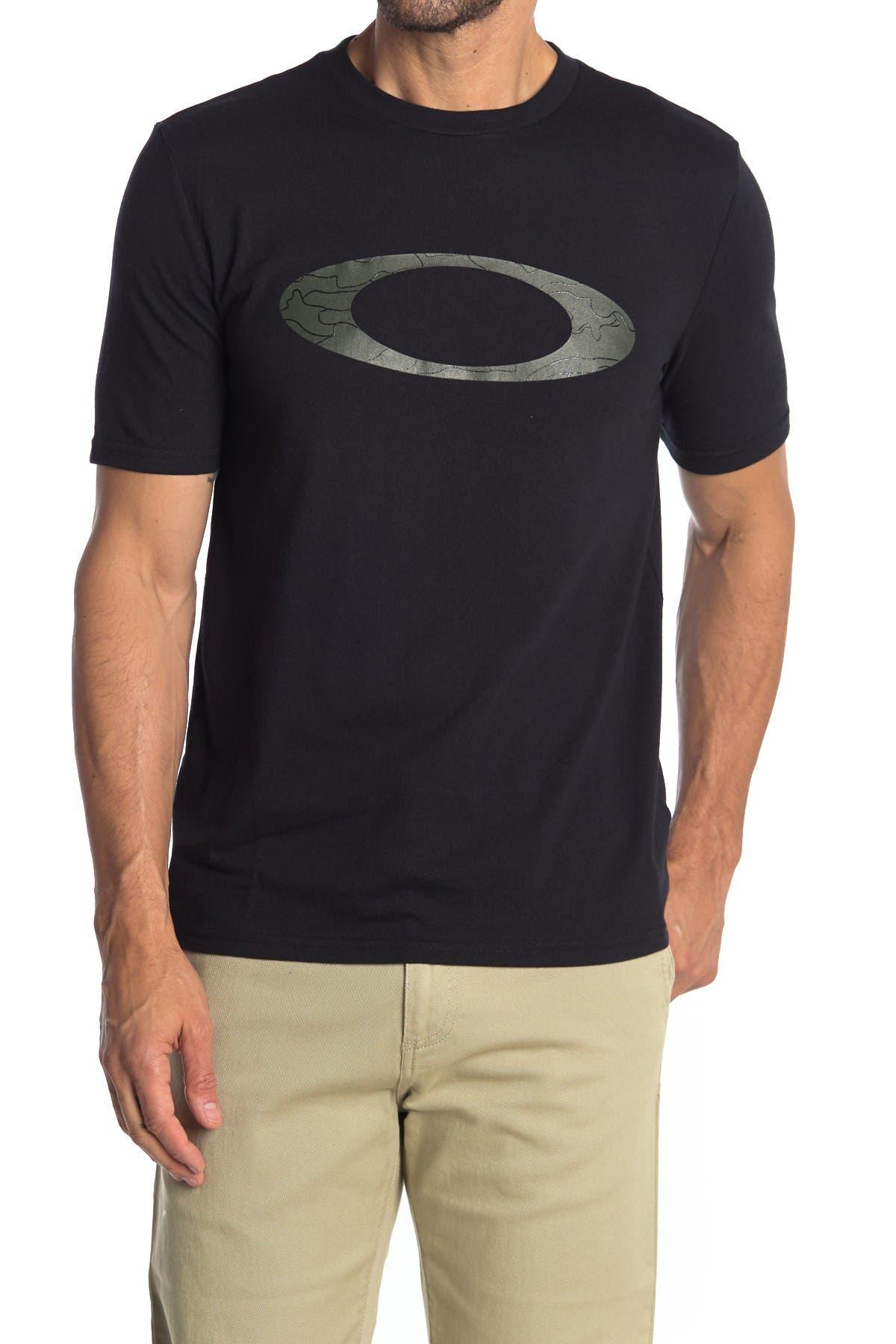 Image of Oakley Ellipse Line Logo T-Shirt