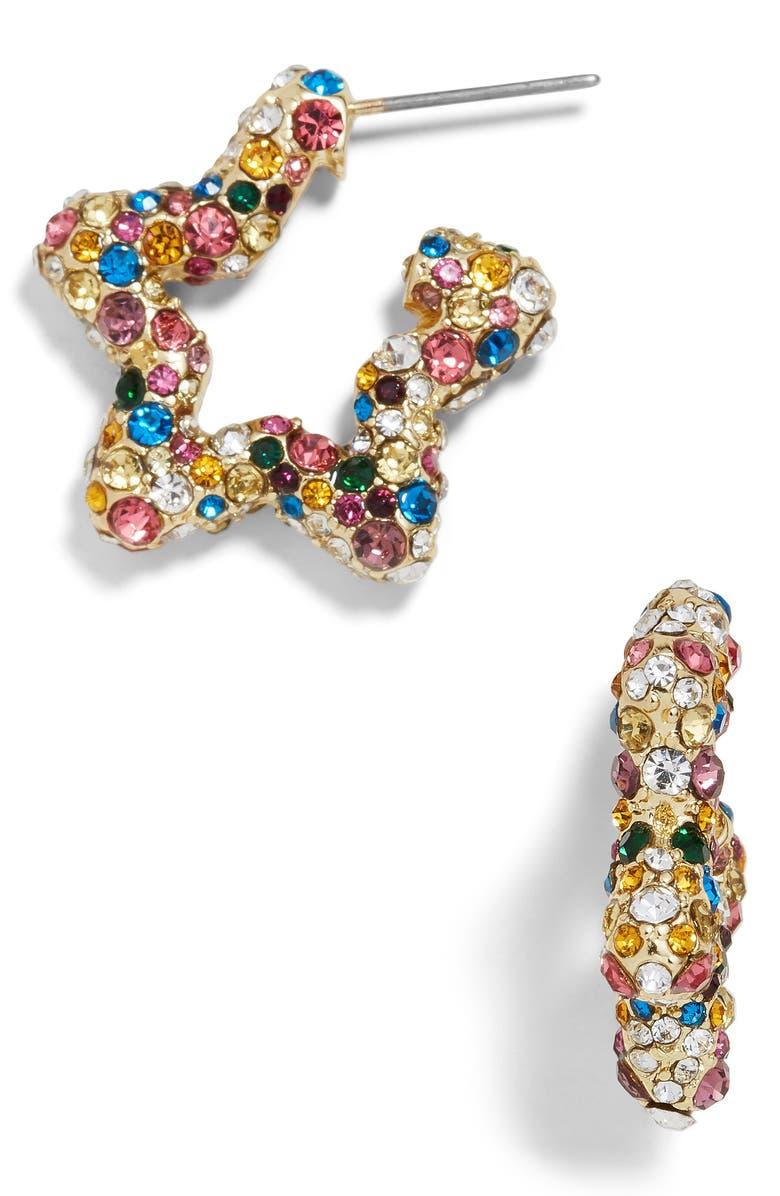 BAUBLEBAR Rainbow Star Earrings, Main, color, RAINBOW MULTI