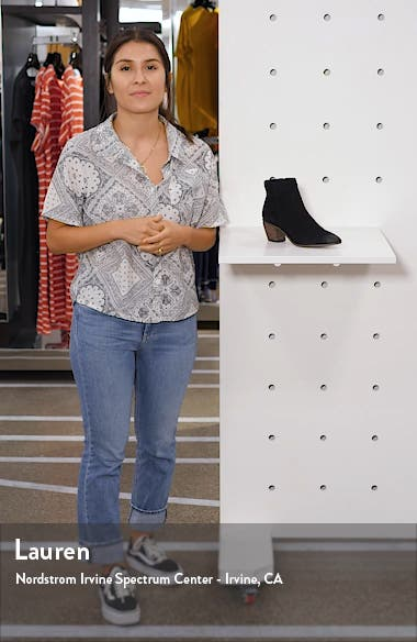 Grasem Pointed Toe Western Boot, sales video thumbnail
