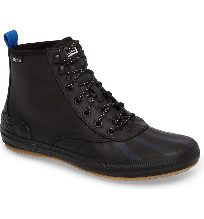 KEDS<SUP>®</SUP> Scout Water Repellent Sneaker Boot, Main, color, 001