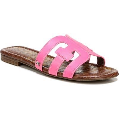 Sam Edelman Bay Cutout Slide Sandal, Pink