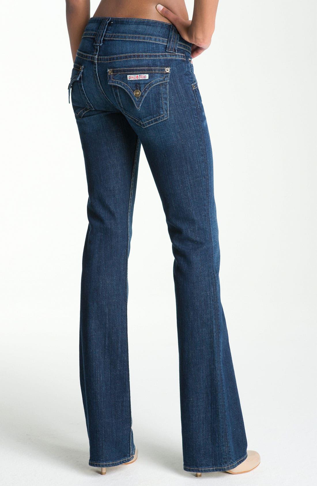 ,                             Signature Flap Pocket Bootcut Jeans,                             Alternate thumbnail 24, color,                             401