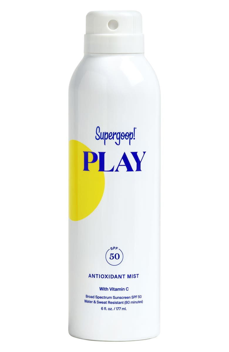SUPERGOOP!<SUP>®</SUP> Supergoop! Play Antioxidant Body Mist SPF 50, Main, color, NO COLOR