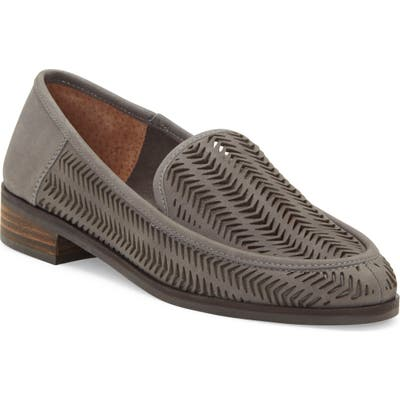 Lucky Brand Camdyn Cutout Loafer- Grey