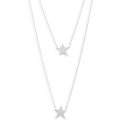 Jennifer Zeuner Layered Star Pendant Necklace