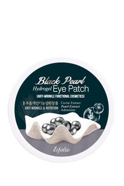 Image of I'M MIMI INTERNATIONAL Black Pearl Hydro Gel Eye Patch
