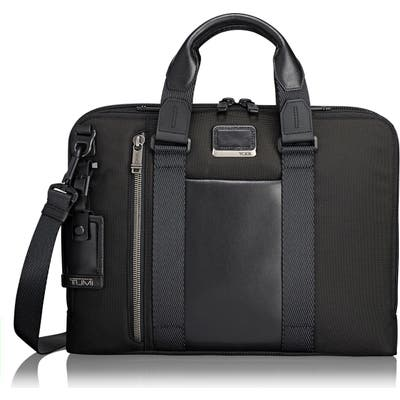 Tumi Alpha Bravo - Aviano Slim Briefcase - Black