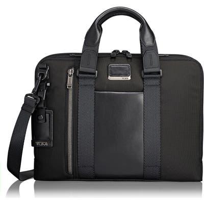 Tumi Alpha Bravo - Aviano Slim Briefcase - Black