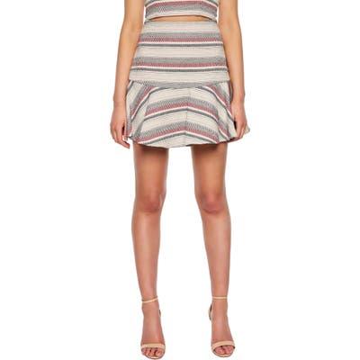 Bardot Stripe Skirt, Blue