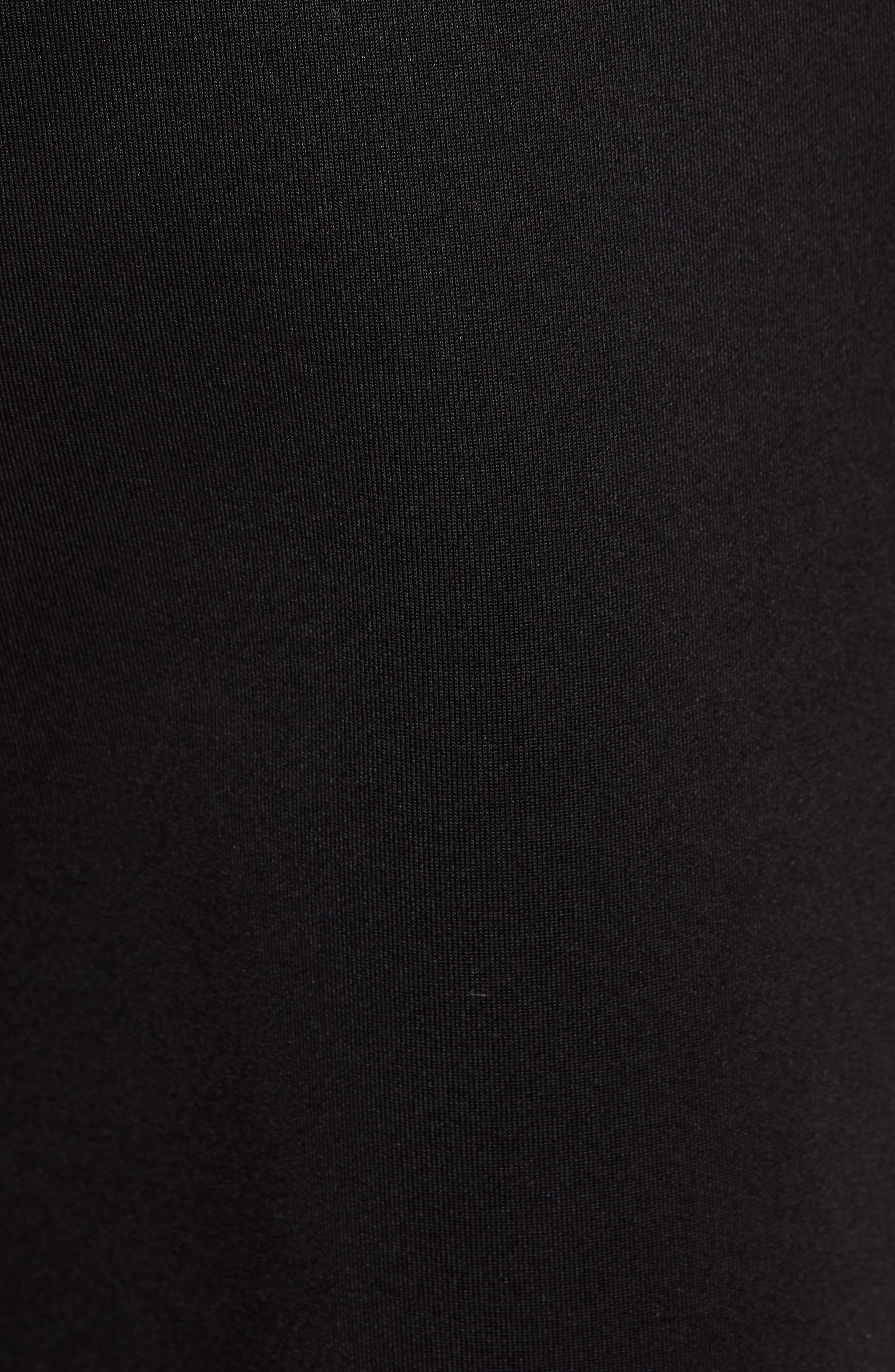 ,                             Logo Track Pants,                             Alternate thumbnail 5, color,                             1 BLACK SC1