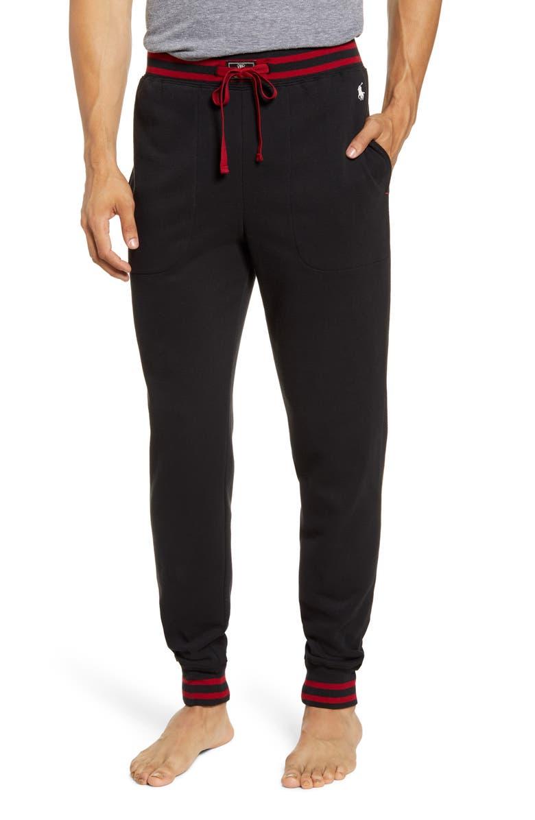 POLO RALPH LAUREN Jogger Pants, Main, color, POLO BLACK