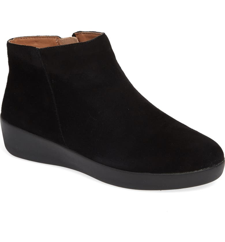 FITFLOP Sumi Boot, Main, color, BLACK SUEDE