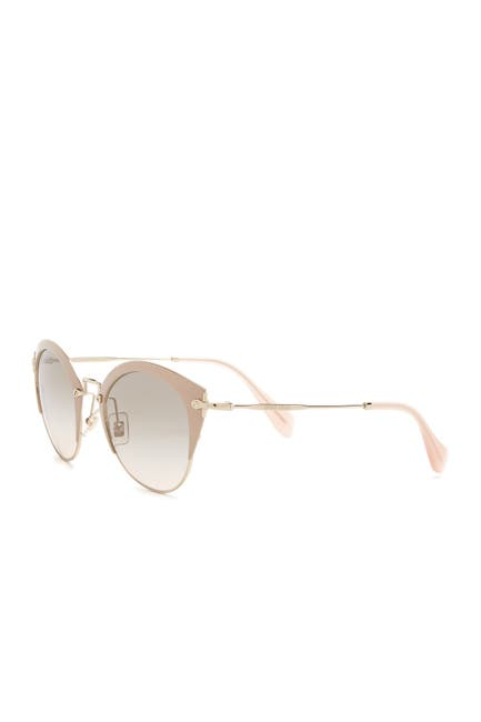 Image of MIU MIU Typewriter 52mm Cat Eye Sunglasses